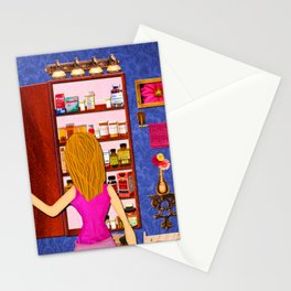 Overmedication Stationery Cards