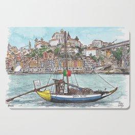 Porto from the Douro River Cutting Board