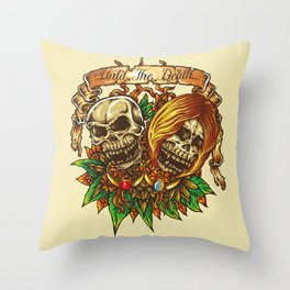 Until The Death Throw Pillow