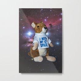 I need my space plush kangaroo Metal Print