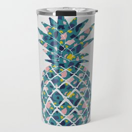 Pineapple Teal Travel Mug