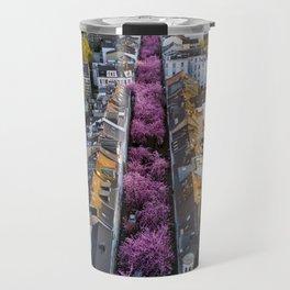 Colorful Street Travel Mug