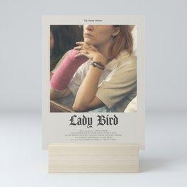 Lady Bird (2017) Minimalist Poster Mini Art Print