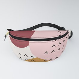 Big Shapes / Mountains Fanny Pack