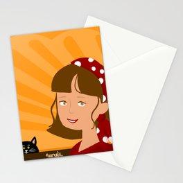 Gypsy Girl Stationery Cards