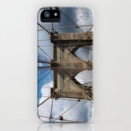 new york city ... brooklyn bridge III iPhone Case