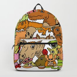 Colored Western Roundup Backpack