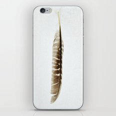 Feather Photograph: Elegant iPhone Skin