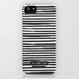 Painted Stripes iPhone Case