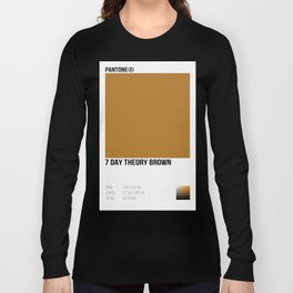 7 DAY THEORY BROWN Long Sleeve T-shirt