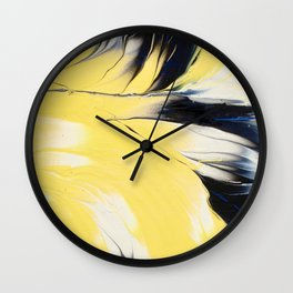 Hello  Yellow ! Wall Clock