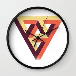 Double Penrose Triangle Wall Clock