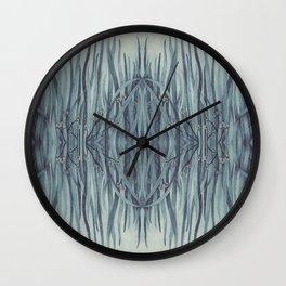 Green-Blue Grass Wall Clock