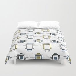 African Cloth Duvet Cover