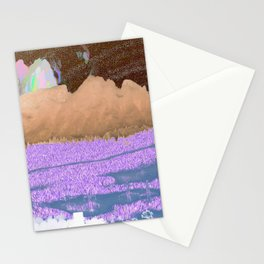 landscape collage #06 Stationery Cards