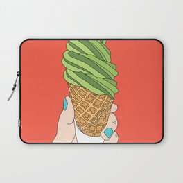 Matcha Ice Cream! Laptop Sleeve