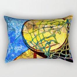 Basketball Artwork 11 Rectangular Pillow