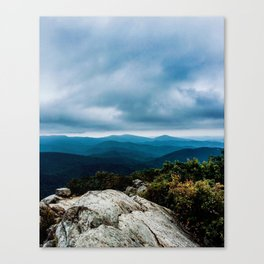 Blue Ridge Mountain Song Canvas Print