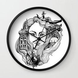 Venice on my mind Wall Clock