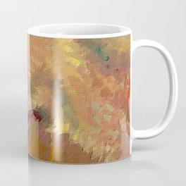 Vincent van Gogh Extreme Close Up of Self Portrait Coffee Mug