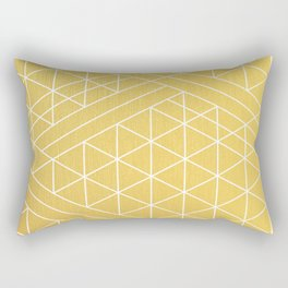 Golden Goddess Rectangular Pillow