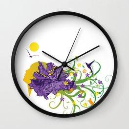 Mother Naure Wall Clock