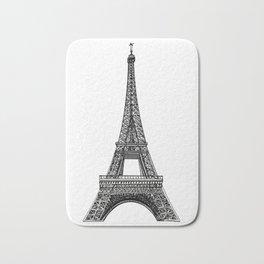 Paris Eiffel Tower Bath Mat