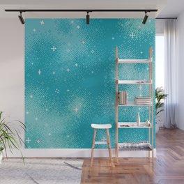 Winter Nebula Wall Mural