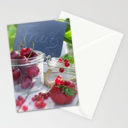 Fresh fruits summer Stationery Cards