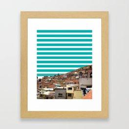 bolive it up! Framed Art Print