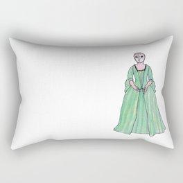 Lady Owl Rectangular Pillow