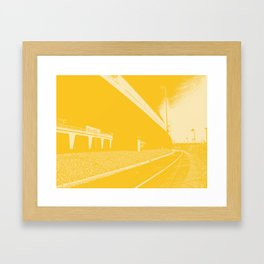 Bridge 13 Framed Art Print