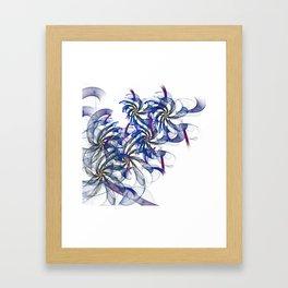 just flames -2- Framed Art Print