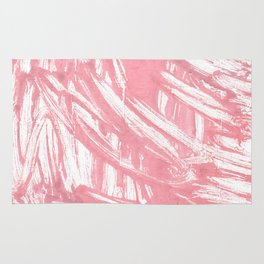 Mauvelous abstract watercolor Rug