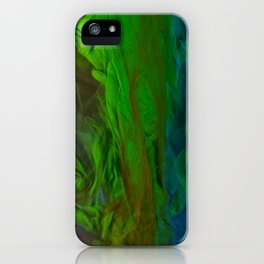 Blue Green Falls iPhone Case