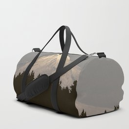 And So The Adventure Begins - Mountain Reflection Duffle Bag