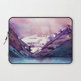 Coloful Lake Louise Laptop Sleeve