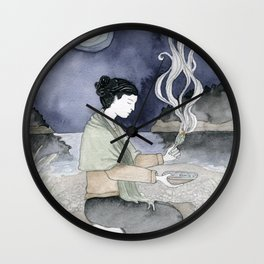 Sage Cleansing Wall Clock