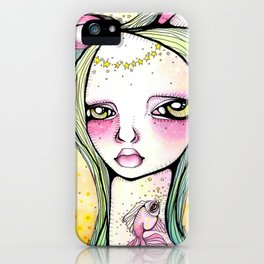 The Mischief of Olive iPhone Case