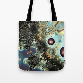 Storm Shadow Fractal Tote Bag