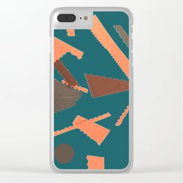 In Alternate Universes #society6 #buyart #retro Clear iPhone Case