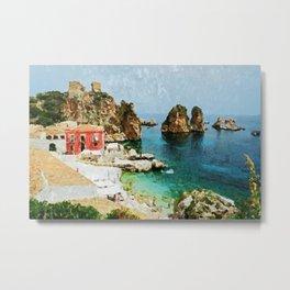 Sicily, Italy Metal Print