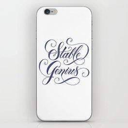Stable Genius iPhone Skin