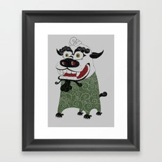 Shishi 獅 Framed Art Print