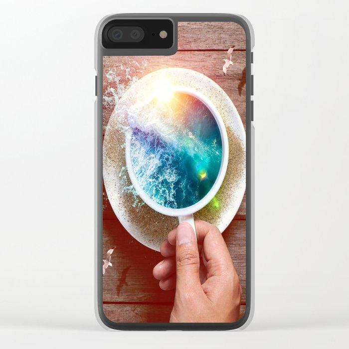 spoondrift Clear iPhone Case