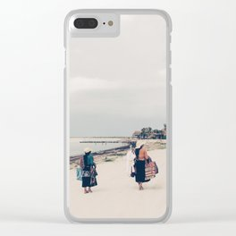Mayan magic Clear iPhone Case