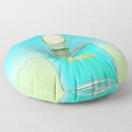 Scented Colors Aqua Floor Pillow