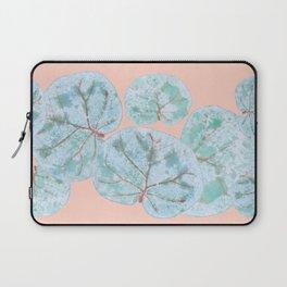 Tropical Sea Grape Leaves Laptop Sleeve