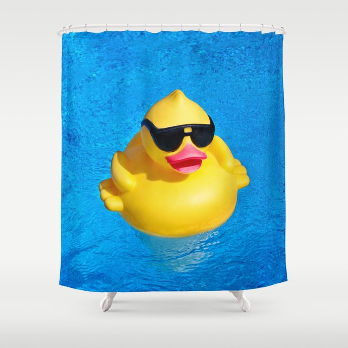 Cool Pool Shower Curtain