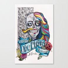 Día de Muertos ANALOG zine Canvas Print